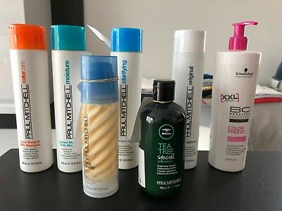 Superbe Lot 7 produits  soin shampooing cheveux schwarzkopf , paul mitchell