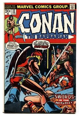 CONAN THE BARBARIAN #23 comic book 1973 MARVEL COMICS-1st RED SONJA vf