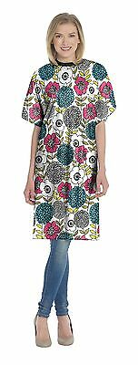 Diane by Fromm - Hair Salon Vinyl Print Flowers Shampoo Cape for Women 36X52
