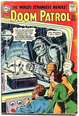 Doom Patrol #86 1964- 1st issue--- 1st Brotherhood of Evil G-