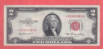 $2 1953 RED SEAL *GEM UNC STAR* UNITED STATES NOTE!!  x1a