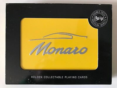 Holden Monaro Collectable Playing Cards - 2 Packs - New