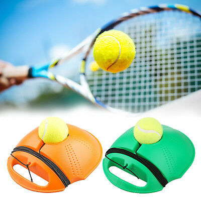 Singles Tennis Ball Training Practice Balls Back Base Trainer Self-study Tools