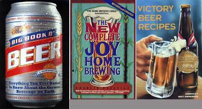 Beer 3bks  New Complete Joy of Home Brewing - Victory Beer Recipes - Big Book of