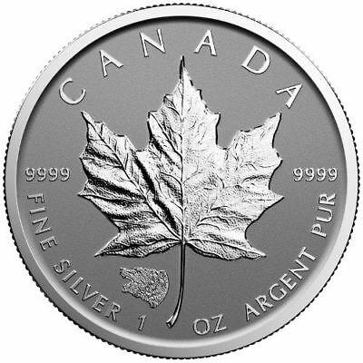 5$ Dollar Maple Leaf Privy Mark Grizzly Canada 2016 argent 1 once REVERSE PROOF