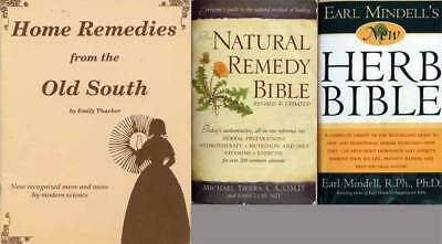 Herbs and Herbal Medicine 3bks Natural Remedy Bible - Herb Bible - Home Remedies