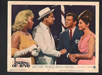 Island of Love Lobby Card-1963-Robert Preston