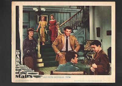 Dark at the Top of the Stairs Lobby Card #4-1960-Robert Preston.