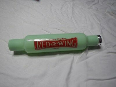 Jadeite Red Wing Flour Rolling Pin