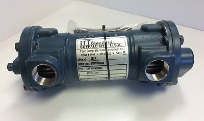 ITT Standard SSCF SN516003008006 Heat Exchanger Shell And Tube Style Air Cooled