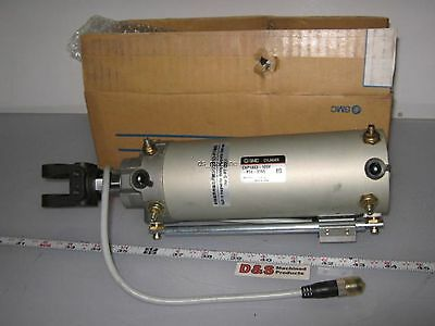 SMC CKP1A63-125Y-P74-376S Pneumatic Cylinder 63mm Bore 125mm Stroke