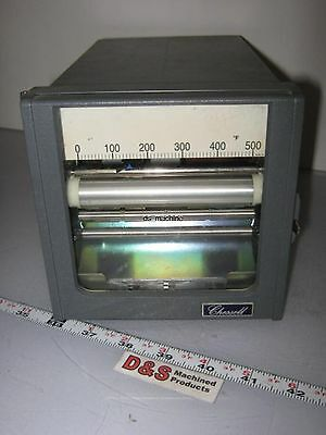 Chessell 300D Z-Faltung Thermo Chart recorder 20min cm 4-20mA Signal