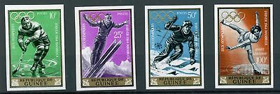 Guinea MiNr. 235-38 B postfrisch/ MNH Olympia (Oly909