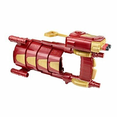 NERF MARVEL AVENGERS Iron Man SLIDE BLAST Armor Retractable Sleeve DART GUN
