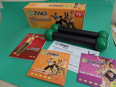 ZUMBA FITNESS Kit includes DVDs and guide