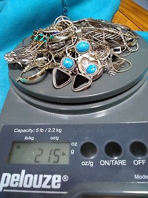Lot of Sterling Silver Mixed Jewelry Vintage To Now ~215 Grams~