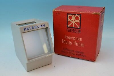 Paterson large screen focus finder boxed.