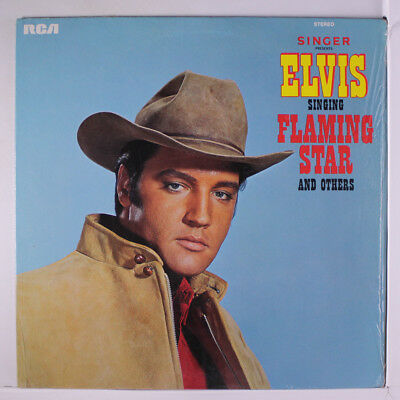 ELVIS PRESLEY: Singer Presents Flaming Star & Others LP (original deep-groove l