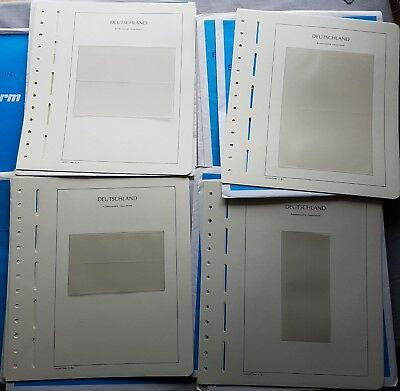 Leuchtturm BL 23 EG 1 -13 SF BLANK SHEETS SHEET OF TEN 182 Piece Boxed 50%