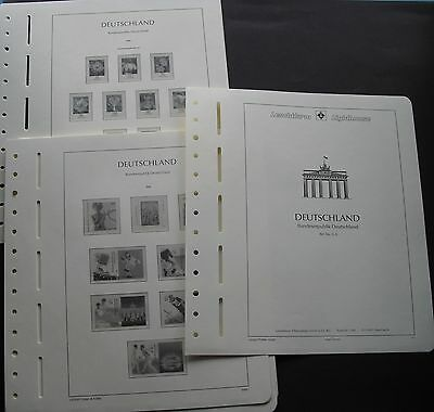 10x Leuchtturm bundesrepublikdeutschland SF Supplement 2005+2006 NEW NP