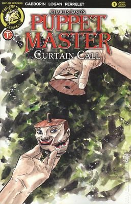 Puppet Master Curtain Call (Action Lab) 1C 2017 NM Stock Image