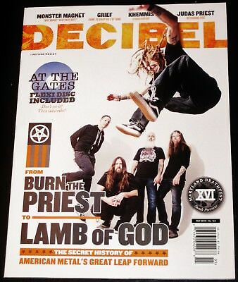 DECIBELIOS Revista #163 mayo 2018 - LAMB OF GOD , Grief, khemmis, at the Gates