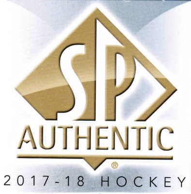 17/18 2017 SP AUTHENTIC HOCKEY BASE CARDS (#1-100) U-Pick From List