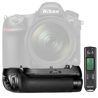 Neewer NW-D850 Shooting Power Pack Battery Grip Replacement for Nikon MB-D18