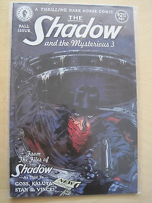 The SHADOW & the MYSTERIOUS 3. Great ONE-SHOT by KALUTA & GOSS. DARK HORSE.1994