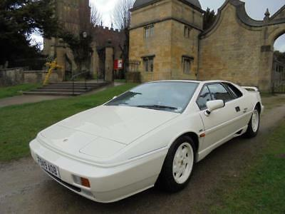 1989 Lotus Esprit 40th Commemorative Anniversary GENUINE 28,500 MILES FROM NEW