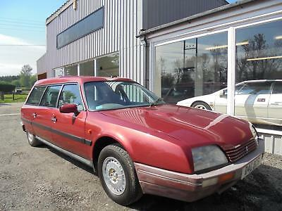 1987 Citroen CX 25 DTR TURBO ESTATE SAFARI 78K MILES 2 FORMER KEEPERS