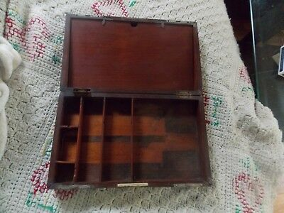Vintage or Antique KNY-SCHEERER Corporation wood Case Dental/Surgical Box