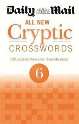 Daily Mail All New Cryptic Crosswords 6 by Daily Mail 9780600629481