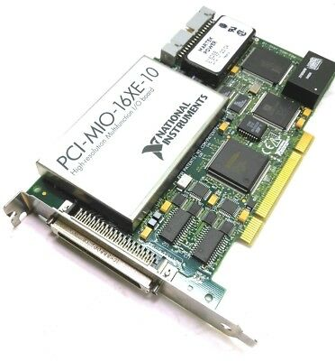 National Instruments PCI-MIO-16-XE Multifunction DAQ, 16-bit In, 16-bit Out