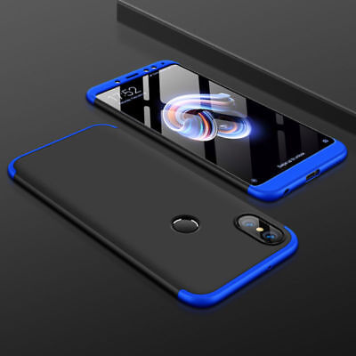 For Xiaomi 6X Redmi Note 5 Pro Shockproof 360° Full Protection Hybrid Case Cover