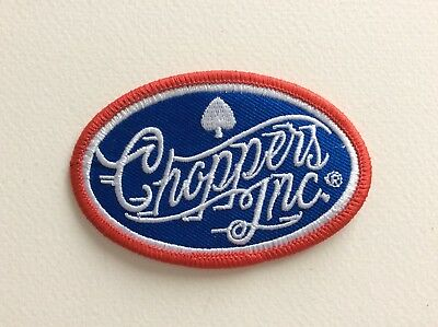 D366 // Ecusson Patch Aufnaher Toppa / Neuf / Choppers Inc 8*5 Cm