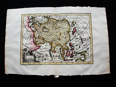 1676 VAN DER KEERE - orig. map: Asia Nova Descriptio, India, China, Philippines