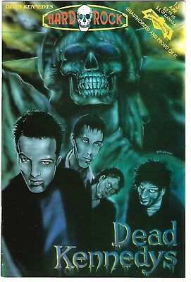 Hard Rock Comics #13  Dead Kennedys (1993) FN/VF  1st Print