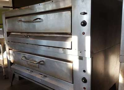 Montague Hearthbake Double Pizza Oven - Natural Gas - Model 25P-2 - $11,500.00