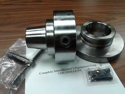 "5C Collet Chuck with L00 semi-finished adapter plate,Chuck Dia. 5"" #5C-05F0"