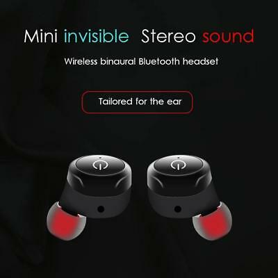 Mini TWS Stereo Bluetooth Wireless In-ear Headset Sports Earbuds With Microphone