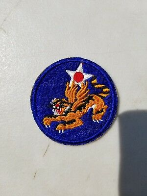 WW2 Original 14th Air Corp Patch Flying Tigers