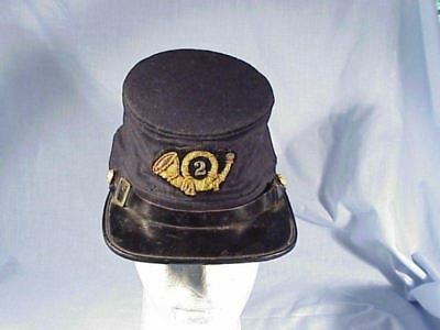 Original Civil War Federal OFFICER'S FORAGE CAP