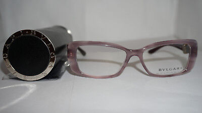 a821d45080 BVLGARI RX EYEGLASSES New Authentic Opal Rose Pink 4098-B 5337 52 15 ...