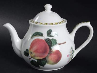 Rosina Queens HOOKER'S FRUIT (BONE - INDIA) Apple Tea Pot 1845680