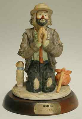 Flambro EMMETT KELLY JR FIGURINE 1988 AMEN 5186000
