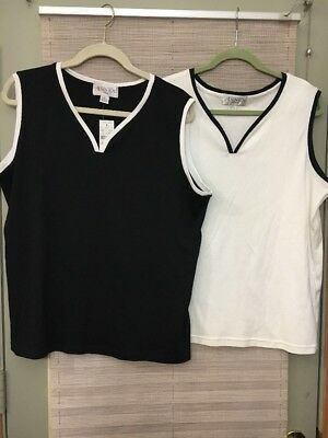 Lot Of Two Casual Corner Annex Tank Tops Womens 2x