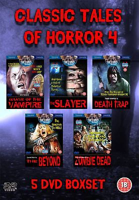 5 DVD Boxset Collection of Cult Classic Tales of Horror films 4
