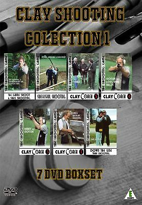 7 DVD boxset collection of Clay Coach and Game Shooting DVDs
