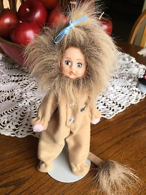 "Madame Alexander 8"" Doll Wizard Of Oz Cowardly Lion"
